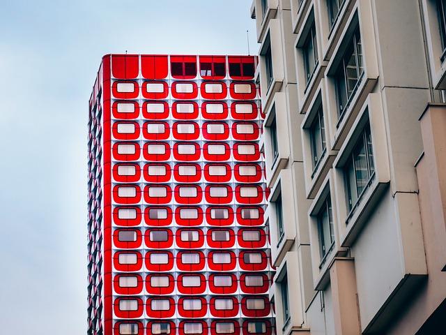 futuristické francouzský hotel